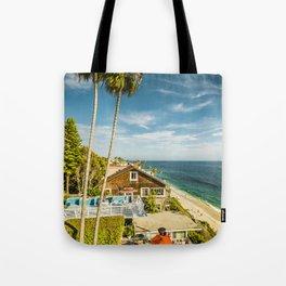 Sunny Summer Day 5533 Laguna Beach Tote Bag