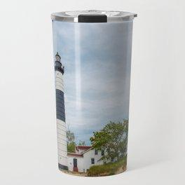 Big Sable Point Lighthouse - Lake Michigan Travel Mug