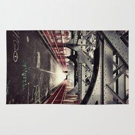 New York City Williamsburg Bridge Rug