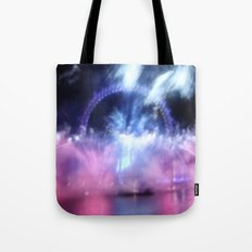 New Year's Eve at London Eye Tote Bag