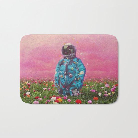 The Flower Field Bath Mat