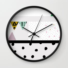 Alone in my thoughts Wall Clock