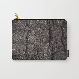 Cracked asphalt road Carry-All Pouch