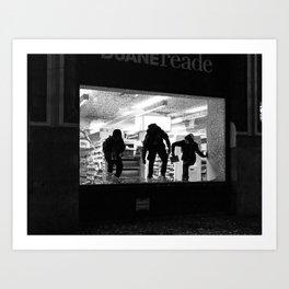 Looting NYC 2020 Art Print