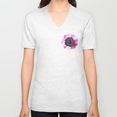 Hello Spring - The Heart of a Anemone  Unisex V-Neck