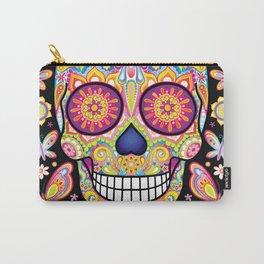 Sugar Skull Art (Mariposa) Carry-All Pouch