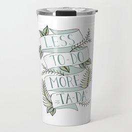 More Ta-Da - Mint Travel Mug