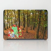 robin hood iPad Cases featuring Robin Hood and the Gang by foreverwars