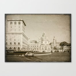 Eternal City (Plaza Venezia) Canvas Print