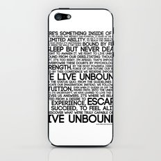 The Manifesto iPhone & iPod Skin