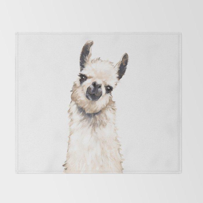 Llama Throw Blanket By Bignosework Society40 Inspiration Llama Throw Blanket