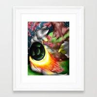 okami Framed Art Prints featuring Okami by Draikinator