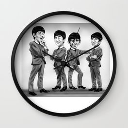 The Fab Four Wall Clock