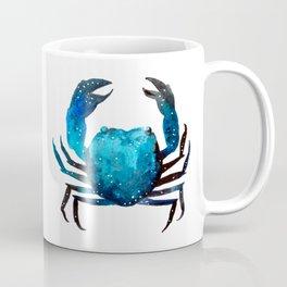 Cerulean blue Crustacean Coffee Mug