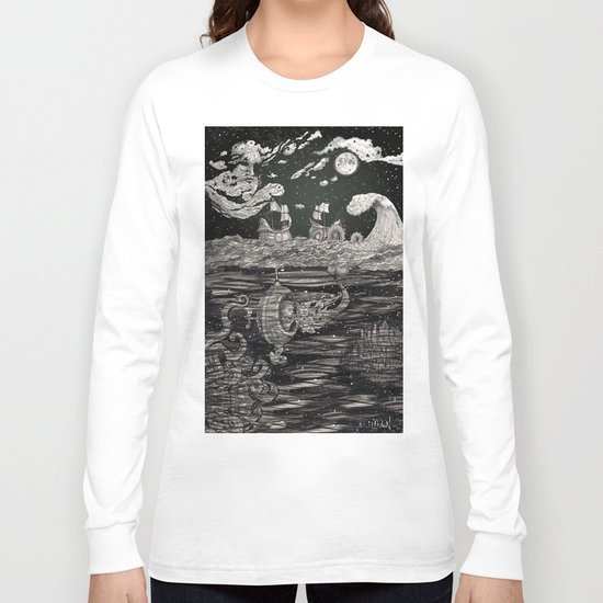 Jupiter's Guide For Submariners Long Sleeve T-shirt