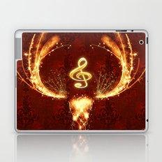 Music, clef Laptop & iPad Skin