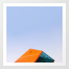 Polyhedron | ArchiMinimal Art Print