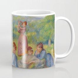 """Auguste Renoir """"Jeunes filles jouant au volant"""" Coffee Mug"""