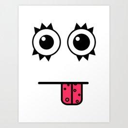 buhhh! Art Print