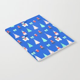 Polar Bears, Christmas Trees, and Presents! (Pattern) Notebook