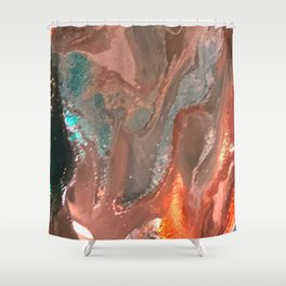 Golden Suncoast Shower Curtain