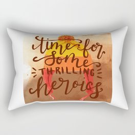 Big Damn Hero Rectangular Pillow