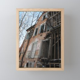 Redpath mansion Framed Mini Art Print