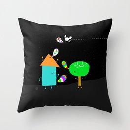 say beautiful things Throw Pillow