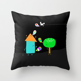 say beautiful things Throw Pillow