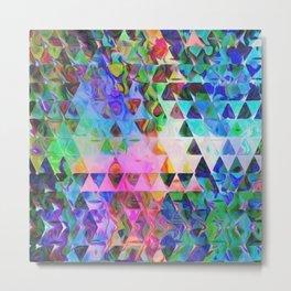 Triangle Universe Metal Print