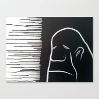 grumpy Canvas Prints featuring Grumpy by 1989