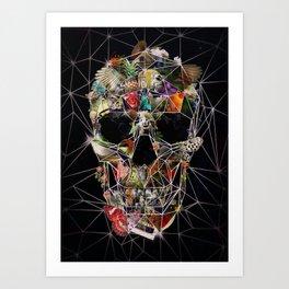 Fragile Skull Art Print