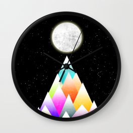 Stars Night Wall Clock