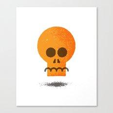 Floating Skull Canvas Print