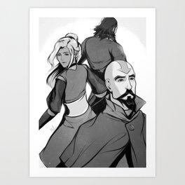 Aang's Legacy Art Print