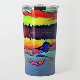Lights and Colors Travel Mug