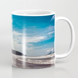Bronze sand at Ohope Beach Coffee Mug