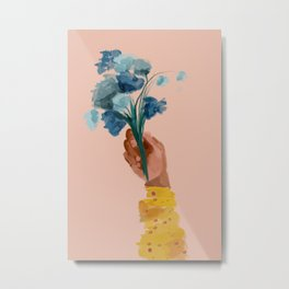 The Floral Feeling Metal Print