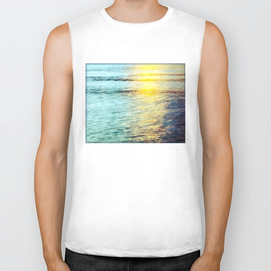 the color of water Biker Tank