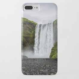 Skogafoss Waterfall Iceland iPhone Case