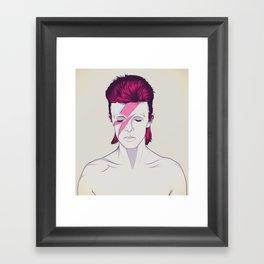 D.B. Framed Art Print