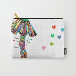 LOVE IS A DANCE Carry-All Pouch
