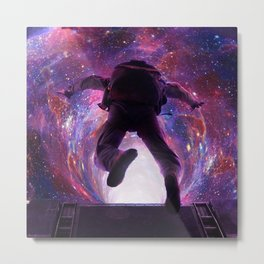 Tunnels in the space Metal Print