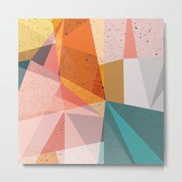 Modern Geometric 67 Metal Print