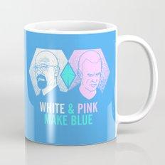 WHITE & PINK MAKE BLUE Mug