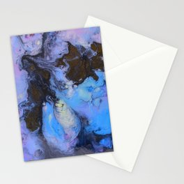 Purple Oasis Stationery Cards