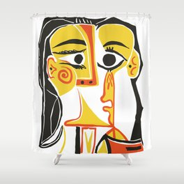 Picasso - Woman's head #2 Shower Curtain