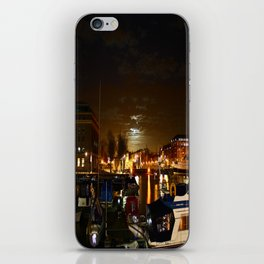 Yellow Moon iPhone Skin