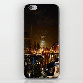 Yellow Moon iPhone Skin
