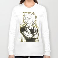 goku Long Sleeve T-shirts featuring GOKU  by DeMoose_Art